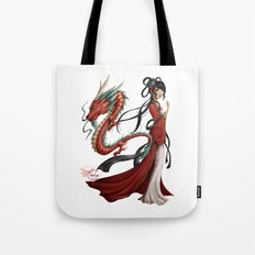 Chinese dragon pure Tote Bag
