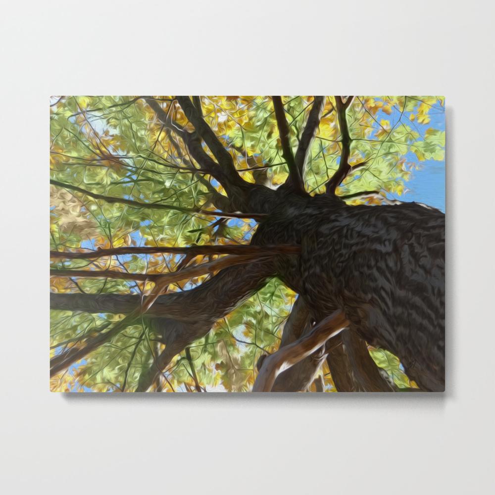 The Mighty Oak Metal Print by Lidkas MTP8279452