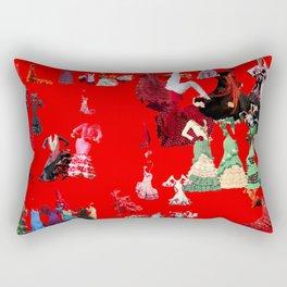 Chicas Flamencas - 3 Rectangular Pillow
