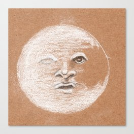 Mister Moon Canvas Print