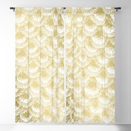 Gold Coral Blackout Curtain