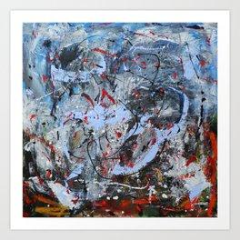 Disequilibrium Art Print
