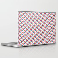bows Laptop & iPad Skins featuring Bows by Amy Lou