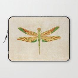 Antique Art Nouveau Dragonfly Laptop Sleeve