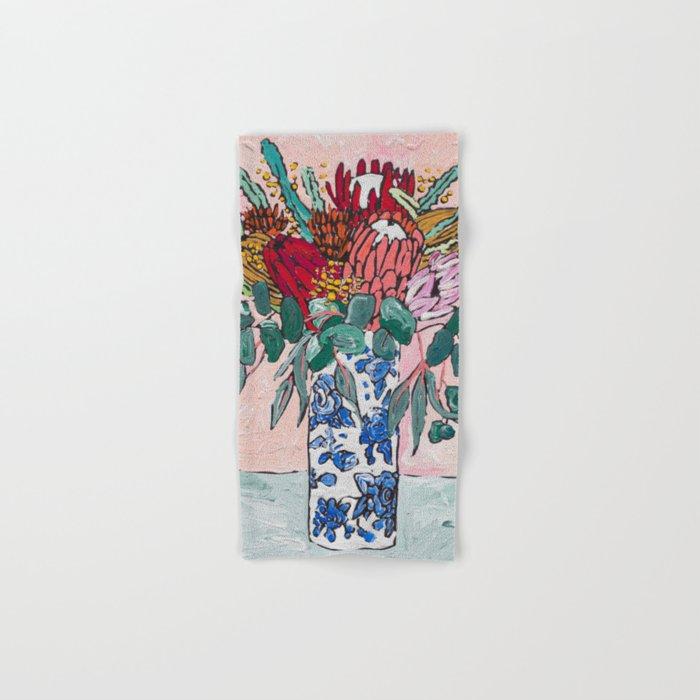 Australian Native Bouquet of Flowers after Matisse Hand & Bath Towel