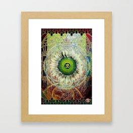 The Eye Om Framed Art Print