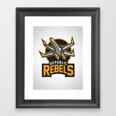 Republic Rebels Framed Art Print