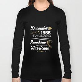 December 1965 Sunshine mixed Hurricane Long Sleeve T-shirt