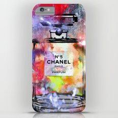 No 5 Painted iPhone 6 Plus Slim Case