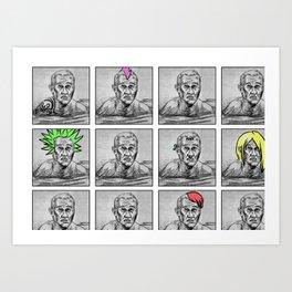 Punk Pages 2011 Art Print