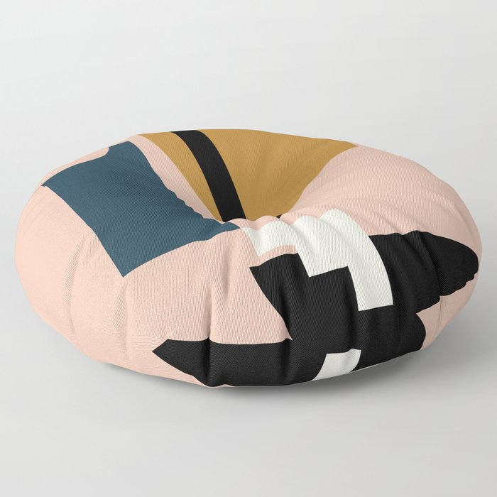 Shape study #2 - Lola Collection Floor Pillow