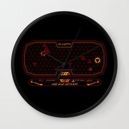 Klingon LCARS Interface Wall Clock