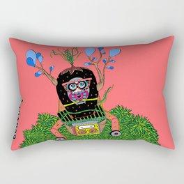 Lily time machine Rectangular Pillow