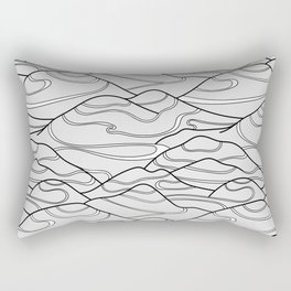 Serpentines Rectangular Pillow