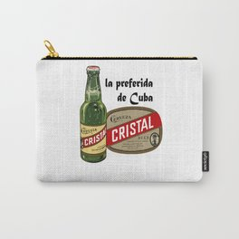 CRISTAL BEER Carry-All Pouch
