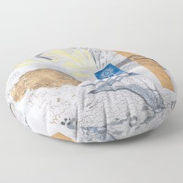 Shed light on the water crises Floor Pillow