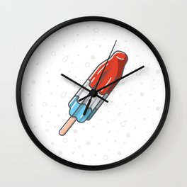 The Summer Bomb Pop Wall Clock