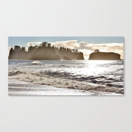 Rialto Beach Canvas Print