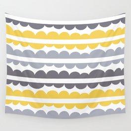 Mordidas Primrose Yellow Wall Tapestry