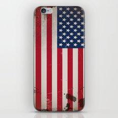 Vintage USA Flag iPhone & iPod Skin