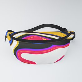 Colorful Abstract Painting Fanny Pack