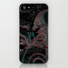 Achluophobia iPhone Case