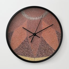 Crest Bloom Wall Clock