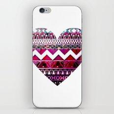Aztec Heart iPhone & iPod Skin