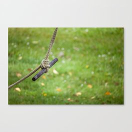 Stationary Swaying Canvas Print