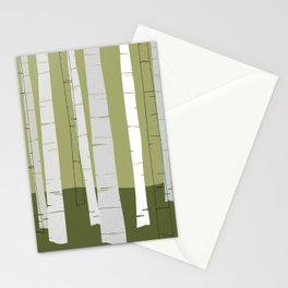 Quiet Birches Stationery Cards