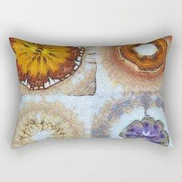Prelawfully Roughness Flowers  ID:16165-050826-93210 Rectangular Pillow