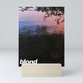 blond Mini Art Print