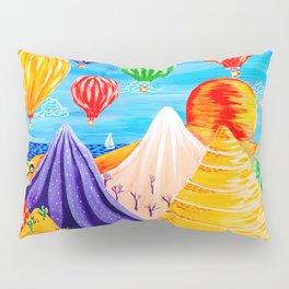 Hot Air Balloon Festival Pillow Sham