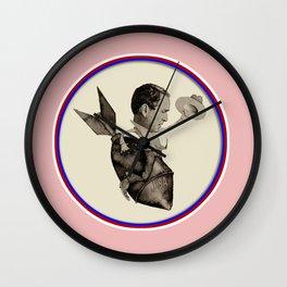 Bush riding the Bomb Wall Clock