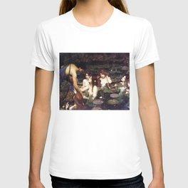 Hylas and the Nymphs,  John William Waterhouse T-shirt