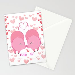 Oink me ! Stationery Cards