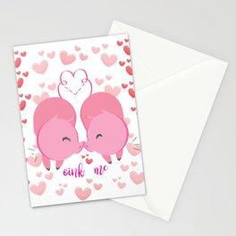 Oink me ! Stationery Cards