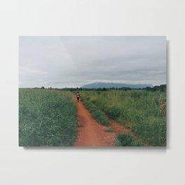 Malawian Trail Metal Print