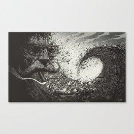 Scourge Of Man Canvas Print