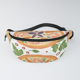 Pizza Vegetables Pattern For Pizza Lovers Fanny Pack