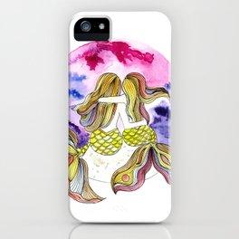 Mamá Sirena e hija iPhone Case