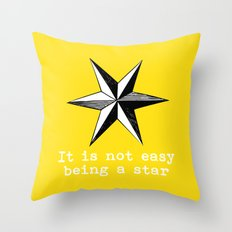 Star vintage inspired Throw Pillow
