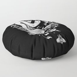 The End Of The Summer Floor Pillow