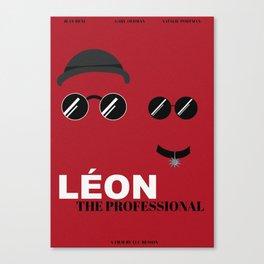LEON THE PROFESSIONAL Canvas Print