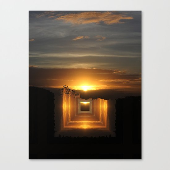 Catch a little sunrise and save it for a rainy day Canvas Print