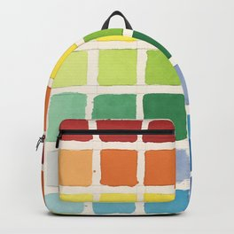 Rainbow Swatch by Diane Bleck Backpack 04df216b8a379