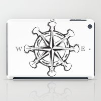 compass iPad Cases featuring Compass by Mady Guzman