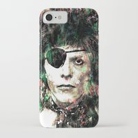bowie iPhone & iPod Cases featuring BOWIE by Vonis