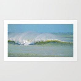 Wave Mist Art Print