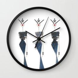 KABUKI QUEENS Wall Clock